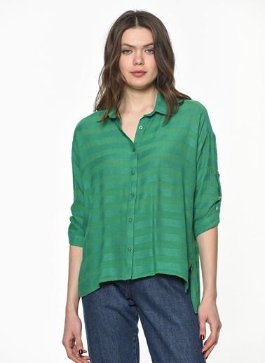 Su Moda Gömlek Yeşil